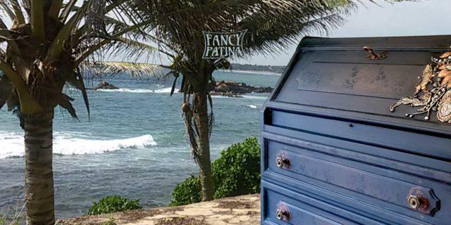 JUNGLE PUNK | VINTAGE Sekretär | Fancy Patina